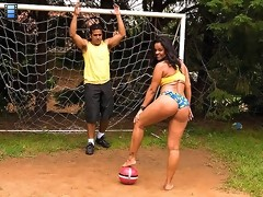 watch this hot big ass brazilian babe get fucked hard on the soccer field in these amazing hot 4 vids [4 movies]